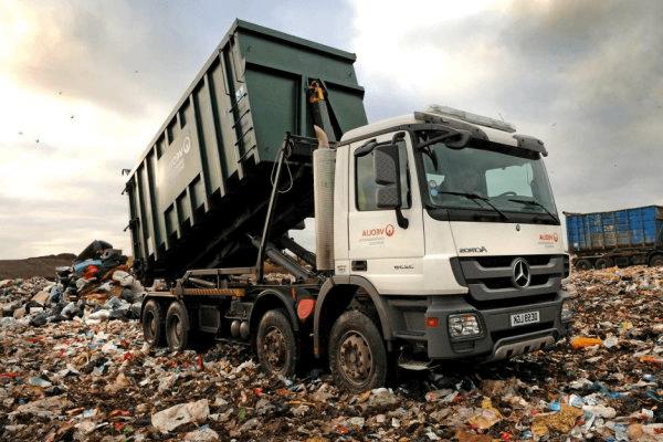 Вывоз твёрдых бытовых отходов контейнером 20 м³