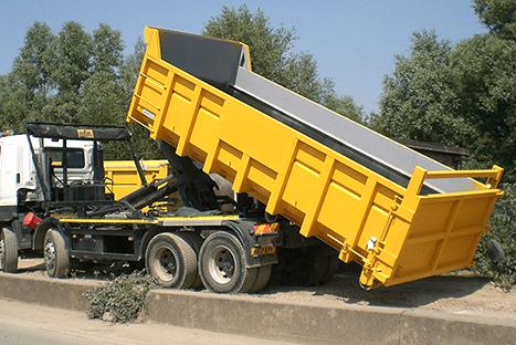 Вывоз бытового мусора контейнером 27 м³