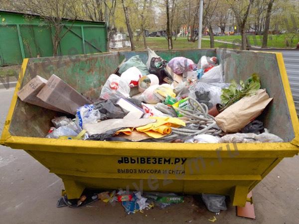 Вывоз отходов с дачного участка