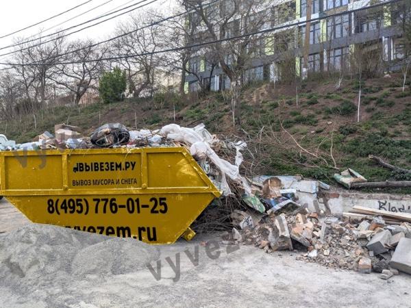 Бункер 8 м3 для мусора из квартиры