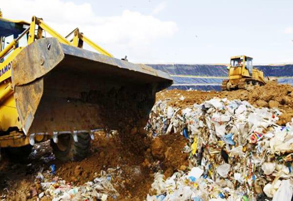 Вывоз твёрдых бытовых отходов контейнером 8 м³