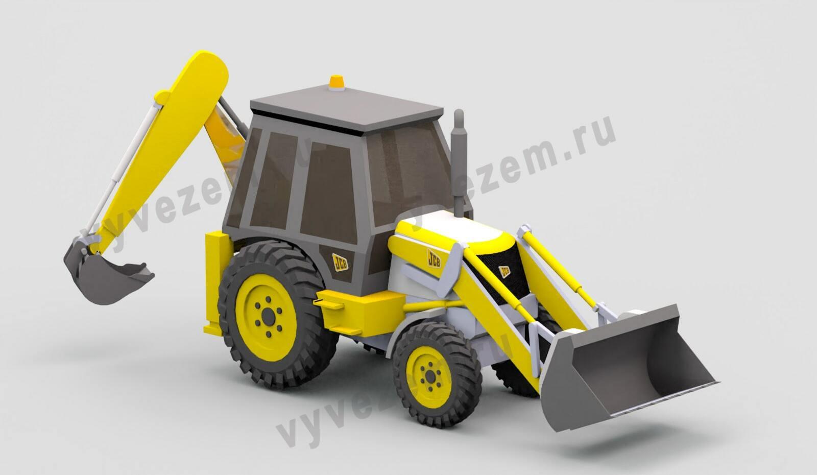 Экскаватор JCB 3CX