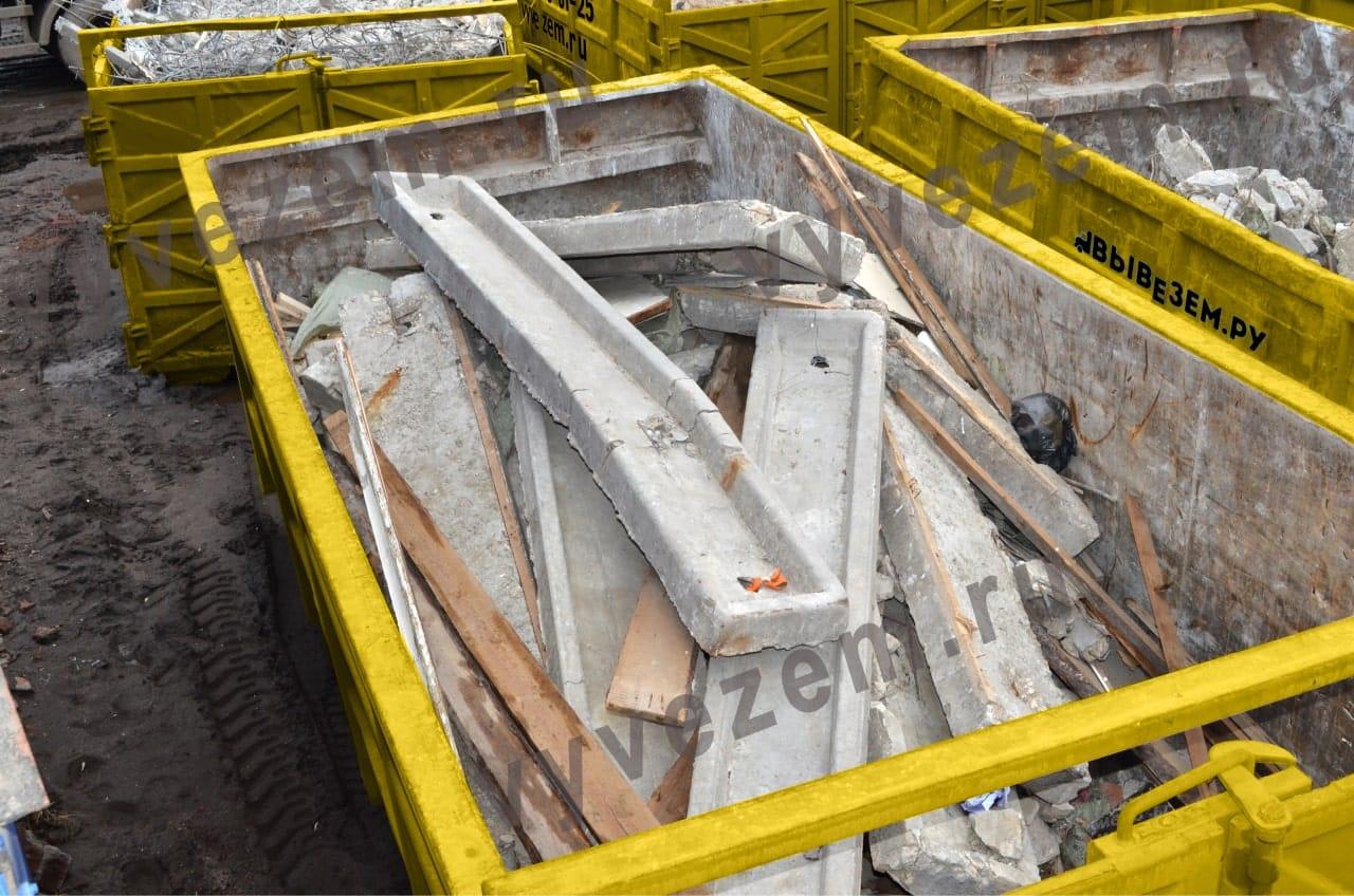 Контейнер для строительного мусора ЗАО