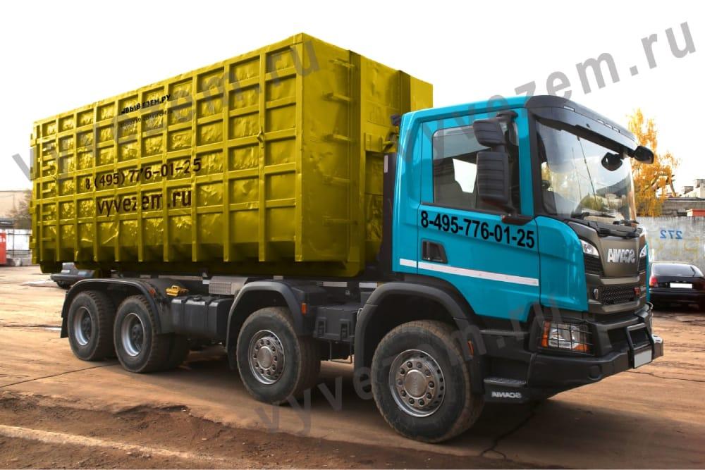 Контейнер для вывоза твёрдых бытовых отходов на 36 кубов