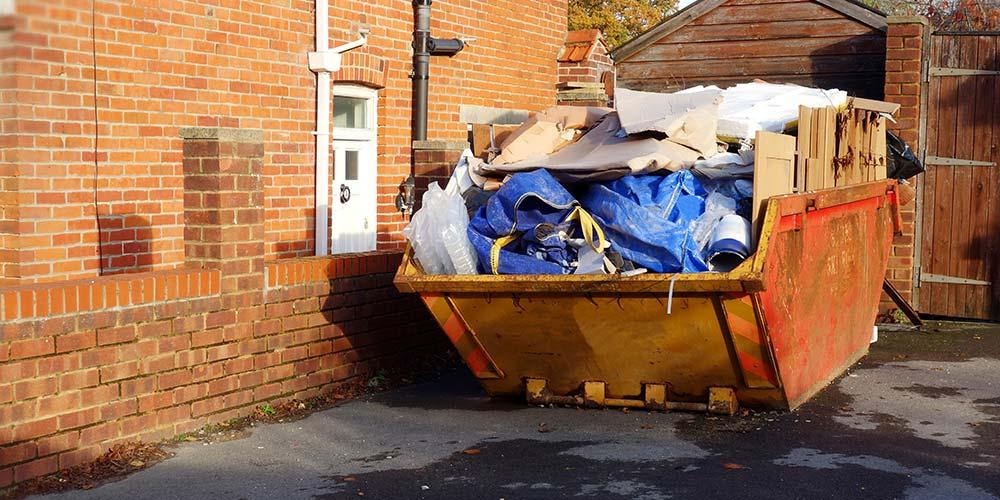 Вывоз твёрдых отходов в частном секторе